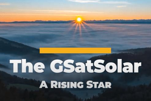GSatSolar header